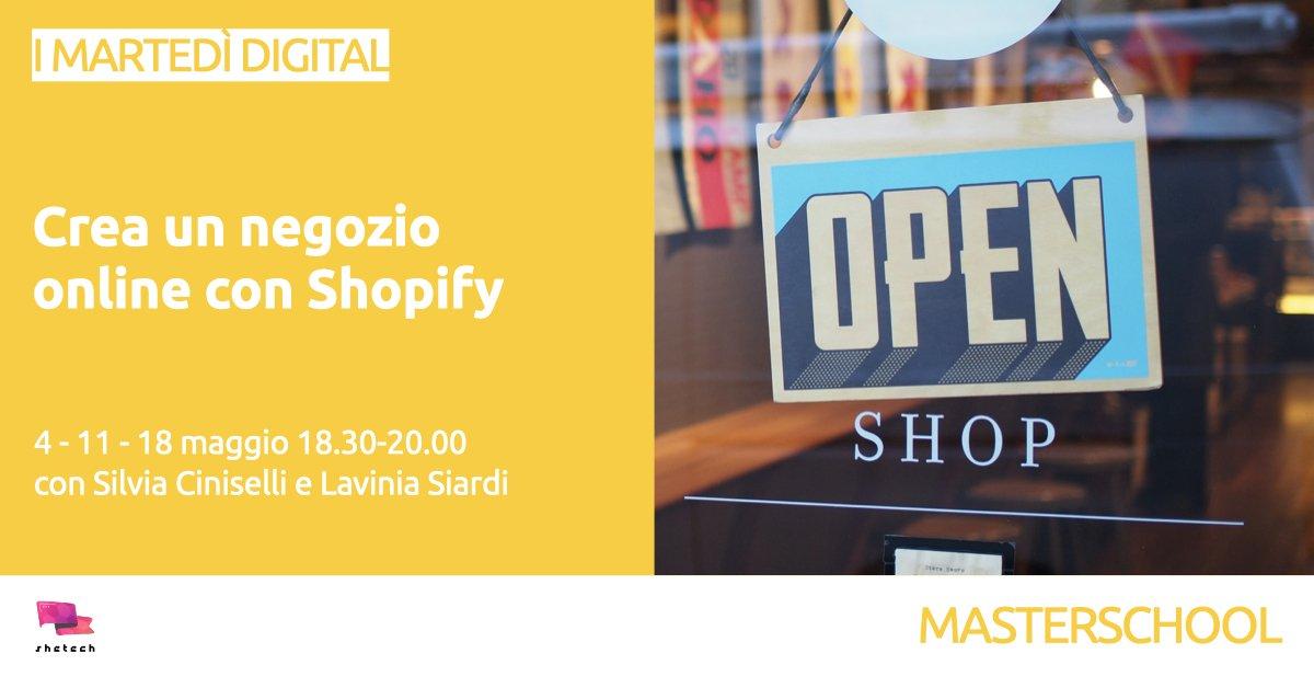 E-commerce: crea il tuo negozio online con Shopify