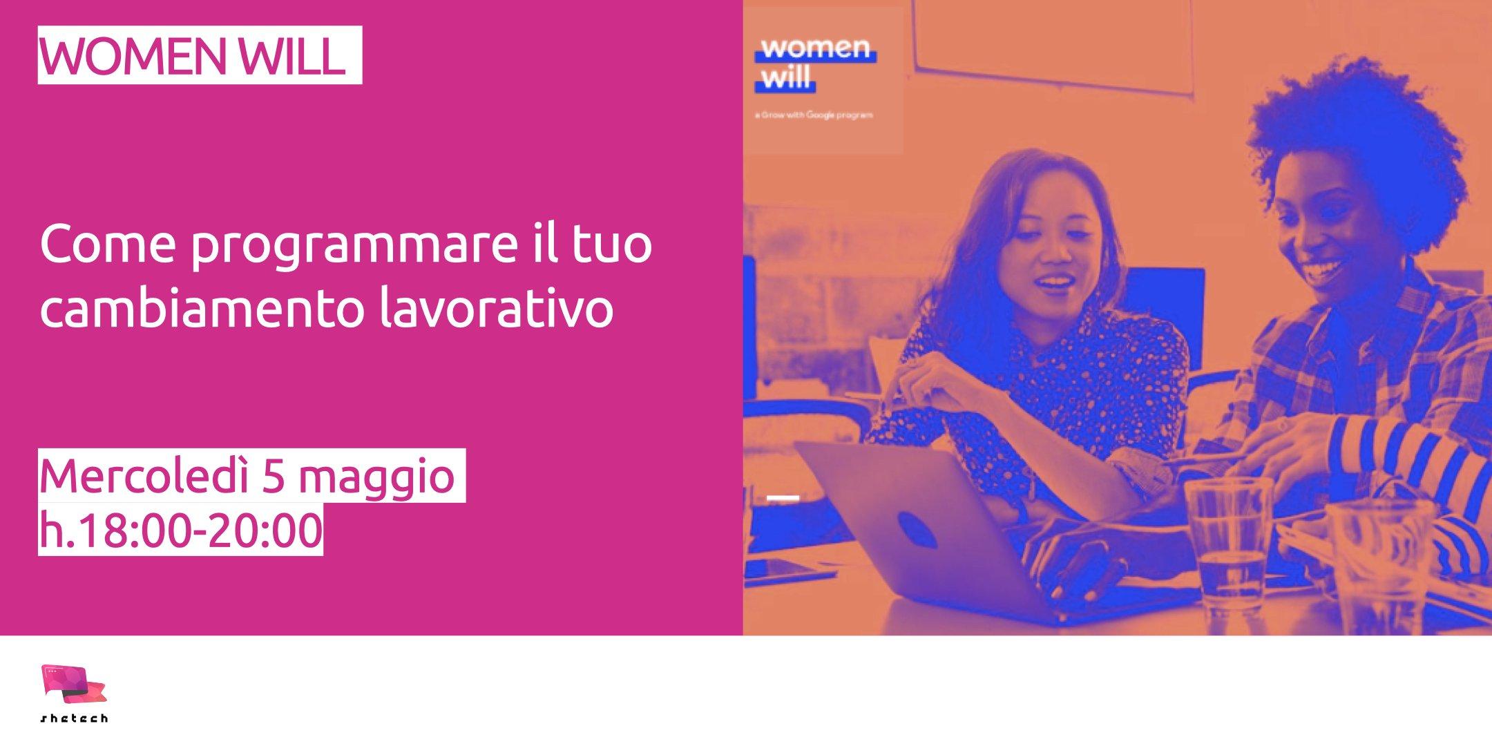 Women Will - come programmare il tuo cambiamento lavorativo