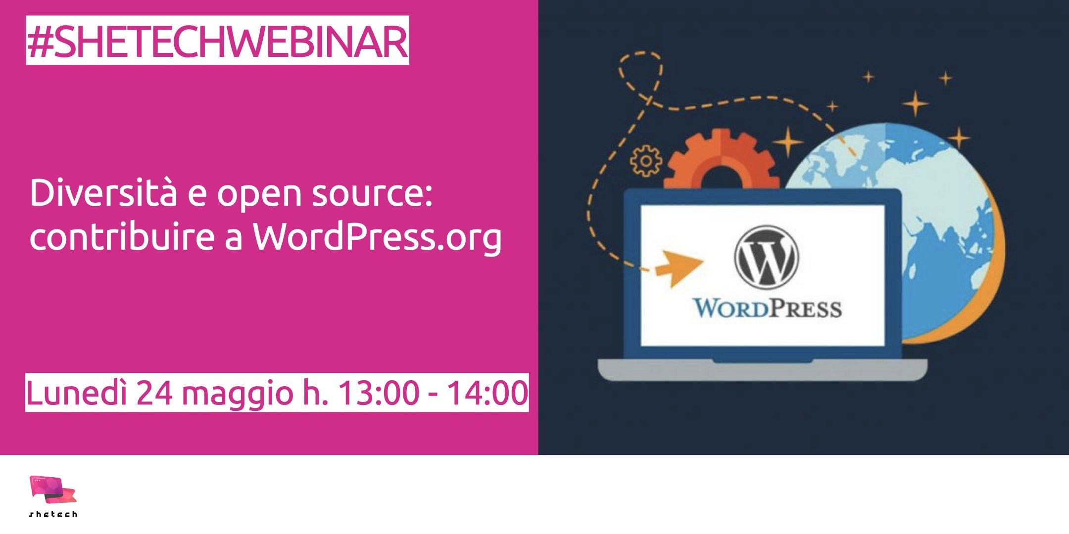#SheTechWebinar - wordpress.org