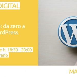 Crea il tuo sito: da zero a online con WordPress